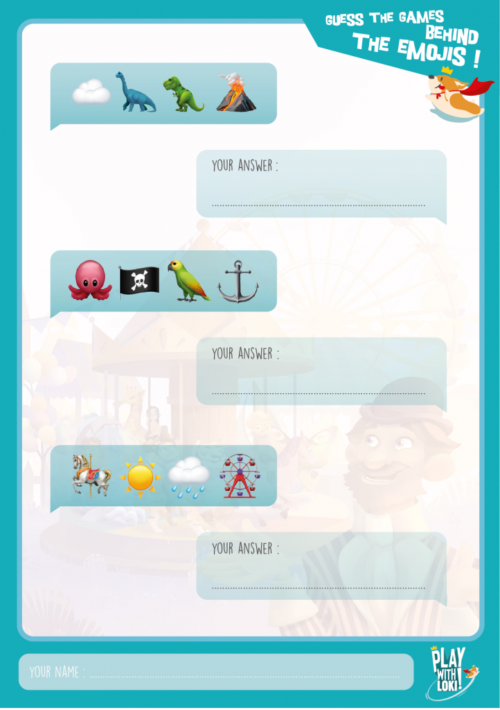 emoji game loki