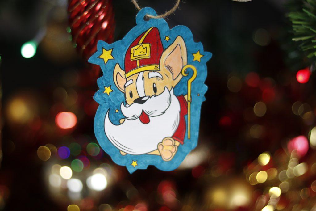Loki's ornament