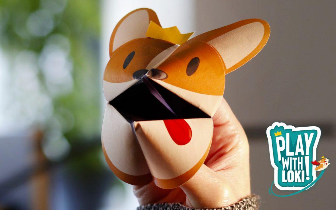 Play With Loki – create your Origami Chicken-Loki