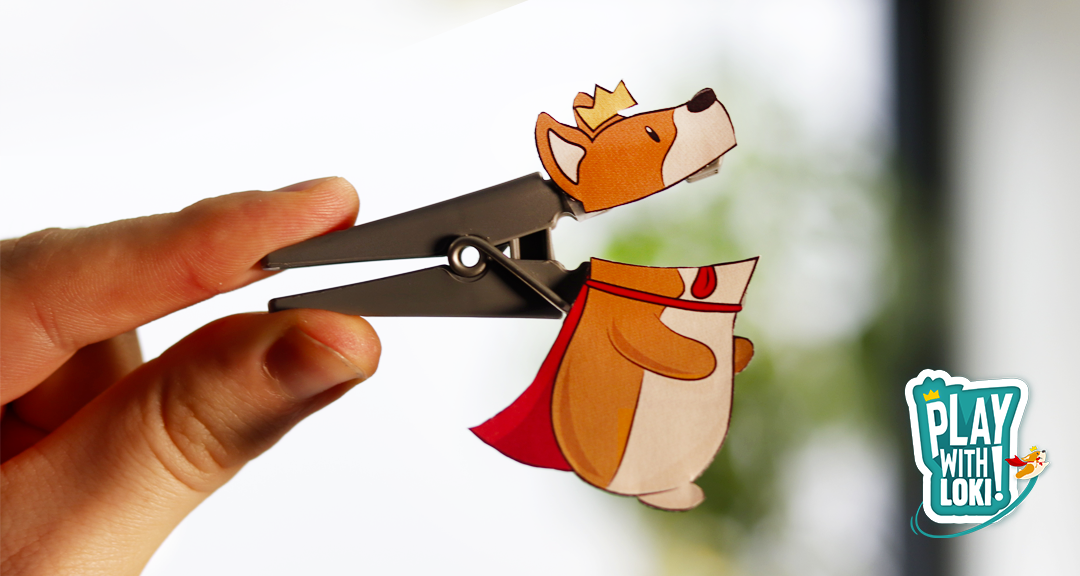 Play with LOKI – Create your own Loki's clothes pin!