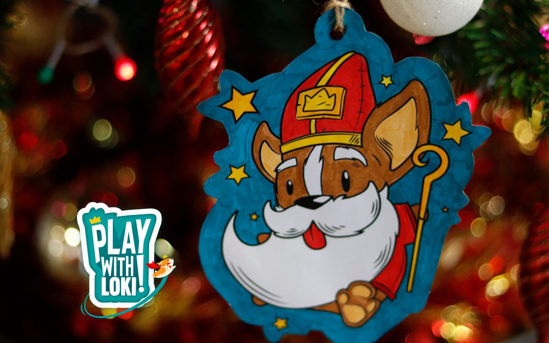 Play with LOKI – Create your own Saint Nicholas's ornament!