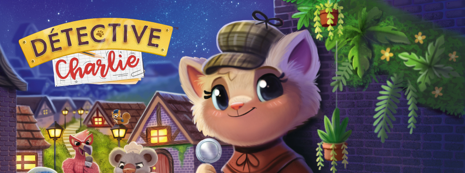 Detective Charlie is coming next Autumn, be ready!