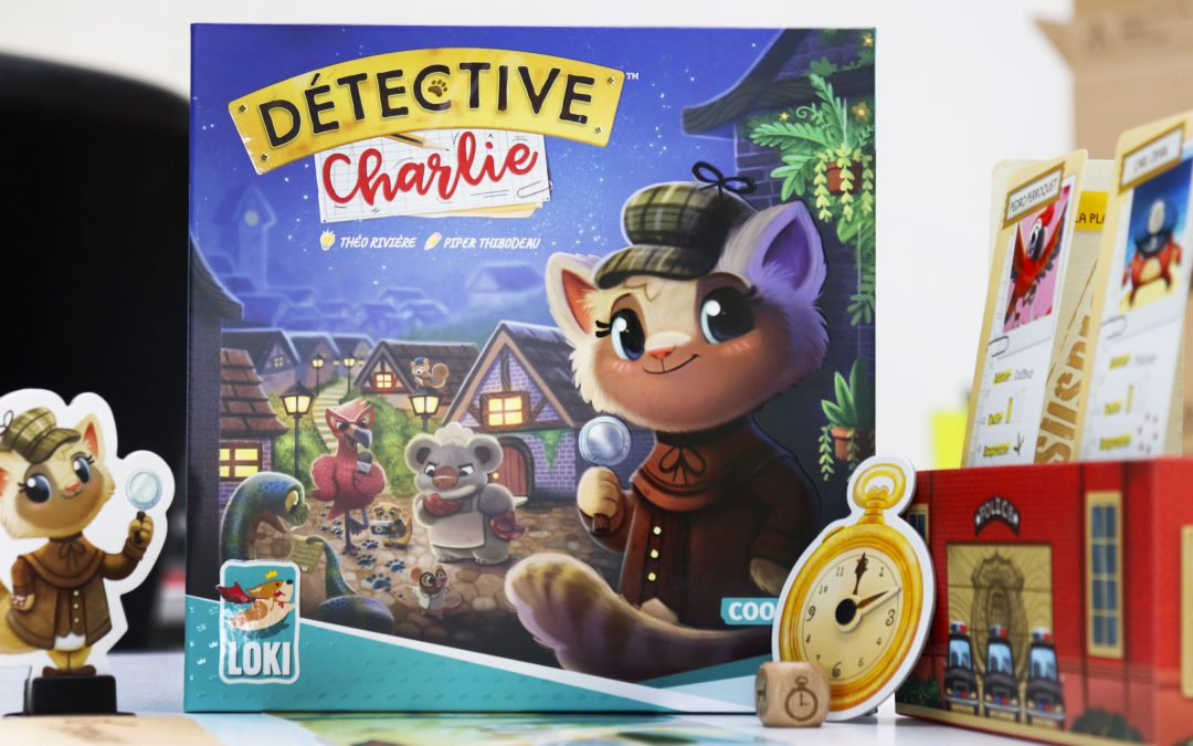 Detective Charlie is on her way!